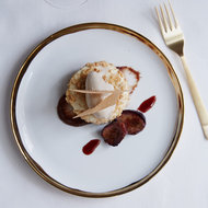 Food & Wine: Halvah Parfait with Figs and Spiced Crumble