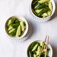 Food & Wine: Homestyle Cucumber Salad with Garlic