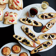 Food & Wine: Lemon Curd Toasts with Coconut