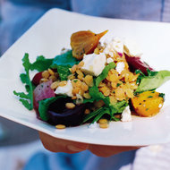 Food & Wine: Red Lentil Salad with Feta and Beets