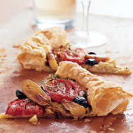 Food & Wine: Roasted Vegetable Galette