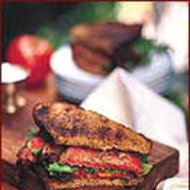 Food & Wine: Steak, Tomato and Arugula Sandwiches