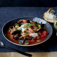 Food & Wine: Seafood, Tomato and Fennel Stew