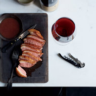 Food & Wine: Seared Duck with Date Jus and Piave Foam