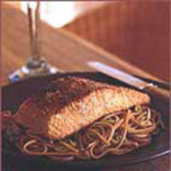 Food & Wine: Sesame Salmon with Soba Noodles