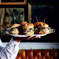 Food & Wine: Shrimp Banh Mi Sliders