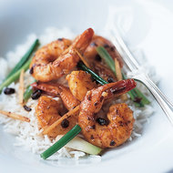 Food & Wine: Shrimp in Black Bean Sauce