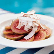 Food & Wine: Sliced Fresh Guava with Shaved Coconut