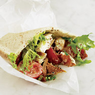 Food & Wine: Smoked Trout and Bacon Pitas