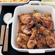 Food & Wine: Smothered Chicken