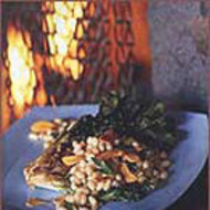 Food & Wine: Grilled Escarole and White Bean Salad