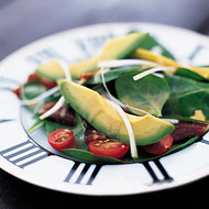 Food & Wine: Spinach and Avocado Salad