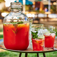 Food & Wine: Tequila-Watermelon Aguas Frescas with Prosecco