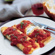 Food & Wine: Three Cheese Manicotti