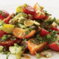 Food & Wine: Tomato, Avocado and Roasted-Corn Salad