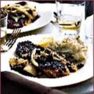 Food & Wine: Tomato-Crusted Snapper with Artichokes and Olives