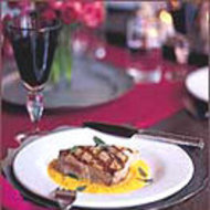 Food & Wine: Grilled Tuna with Pepper Sauce