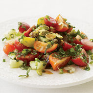 Food & Wine: Turkish Tomato Salad with Fresh Herbs