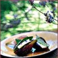 Food & Wine: Warm Figs with Feta and Basil