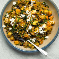 Food & Wine: Wheat Berry and Squash Salad