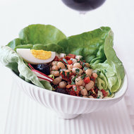 Food & Wine: White Bean and Chorizo Salad with Olives