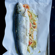 Food & Wine: Whole Baked Trout with Fennel and Orange