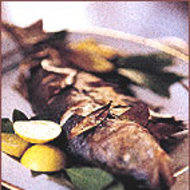 Food & Wine: Roasted Whole Sea Bass with Bay Leaves