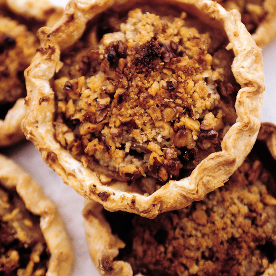 Rustic Apple Tarts with Brown Sugar Topping