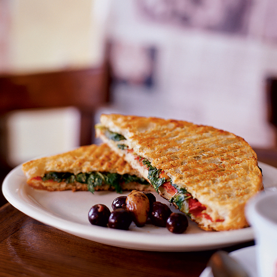 Sweet Coppa and Pepper Panini