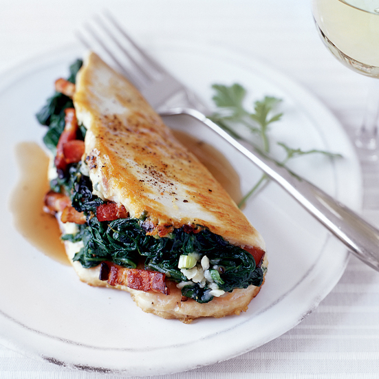 Chicken Stuffed with Spinach