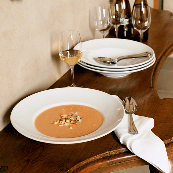 Smoked Salmon and Celery Root Bisque