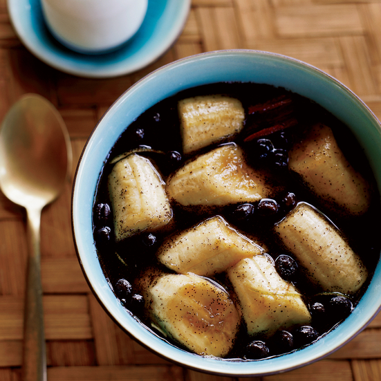 Bananas in Coffee Bean Syrup