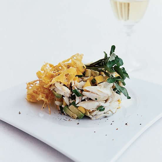 Crab Salad with Avocado and Mango | Food & Wine Recipe