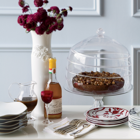 Nutty Toffee-Date Cake