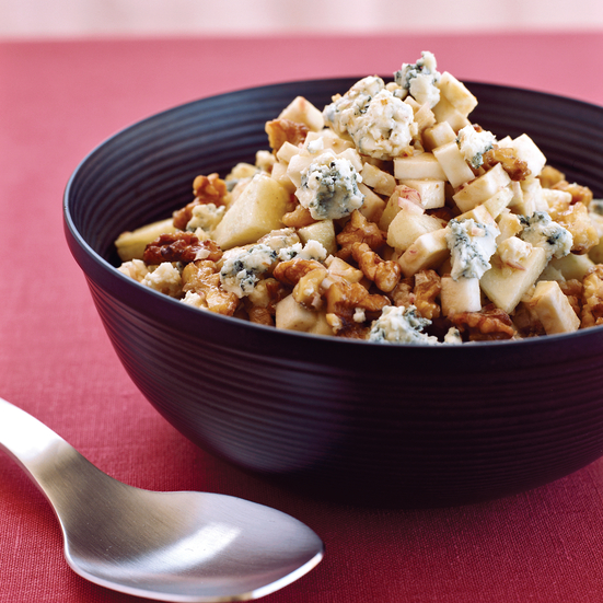 Celery Root with Apples, Walnuts and Blue Cheese | Food & Wine Recipe
