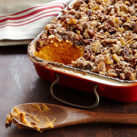 sweet potato casserole crushed yukon gold potatoes with lemon