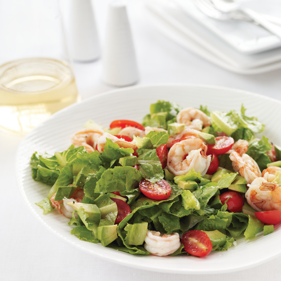 Lemony Shrimp Salad