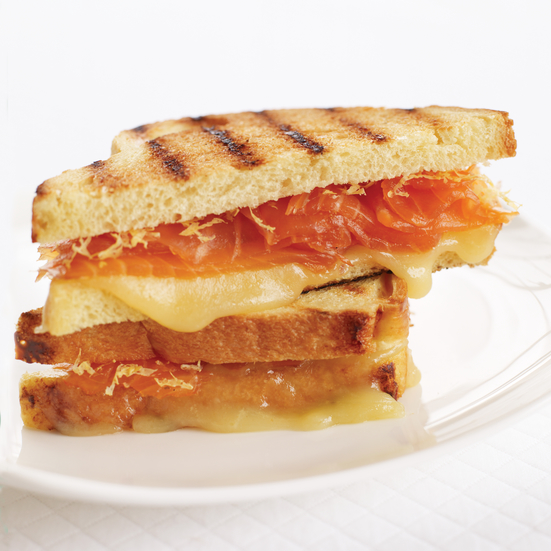 Smoked Salmon And Gruyere Grilled Cheese Sandwich Recipes — Dishmaps