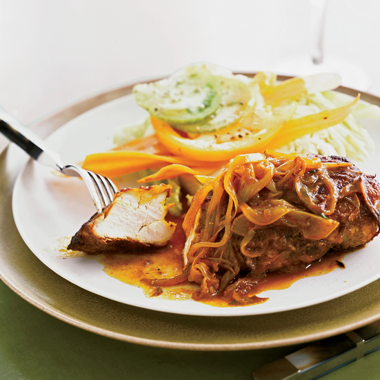 Pan-Seared Chicken Breasts with Jamaican Curry