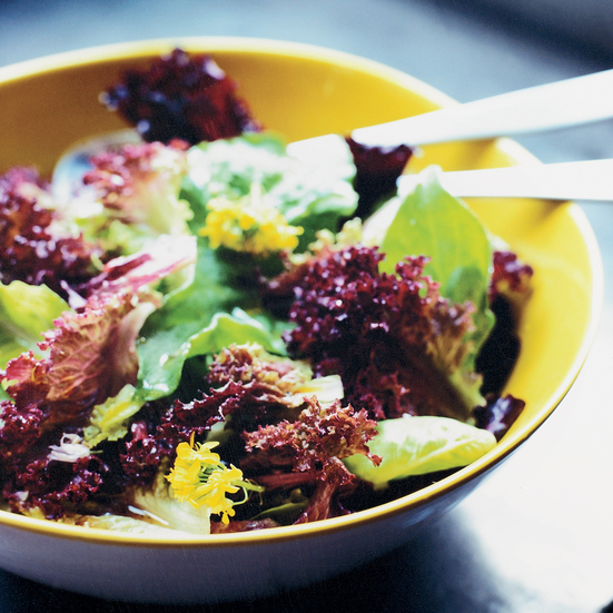 Green Salad with Nutty Vinaigrette
