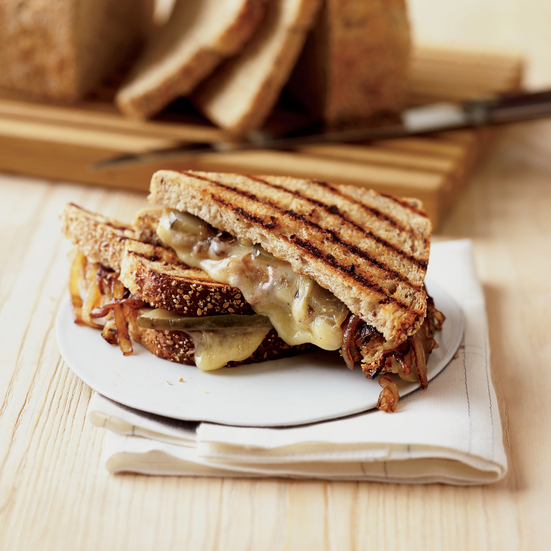Grilled Gruyère and Sweet Onion Sandwiches Recipe - Grace Parisi ...