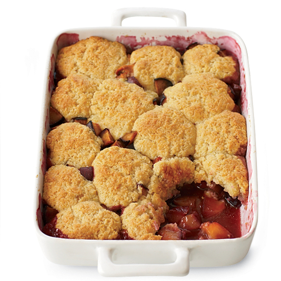 Plum Cobbler Recipe - Grace Parisi | Food & Wine