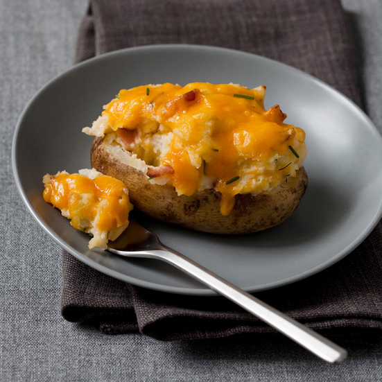 Overstuffed Twice-Baked Potatoes Recipe - Emeril Lagasse | Food & Wine