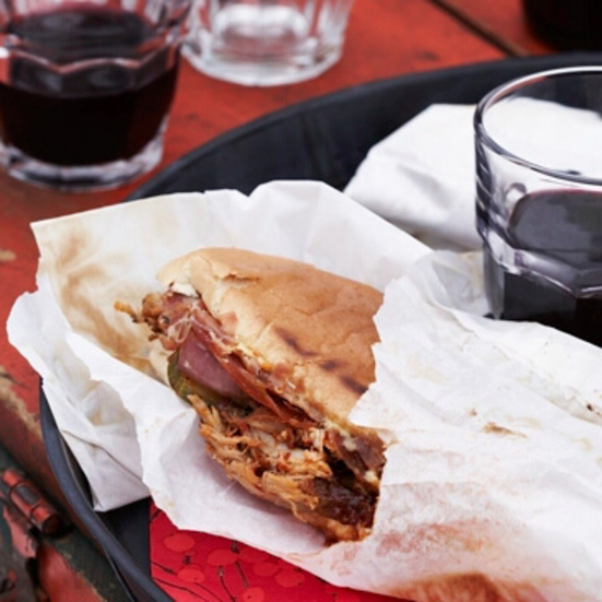 Cuban Sandwiches with Tomato Jam