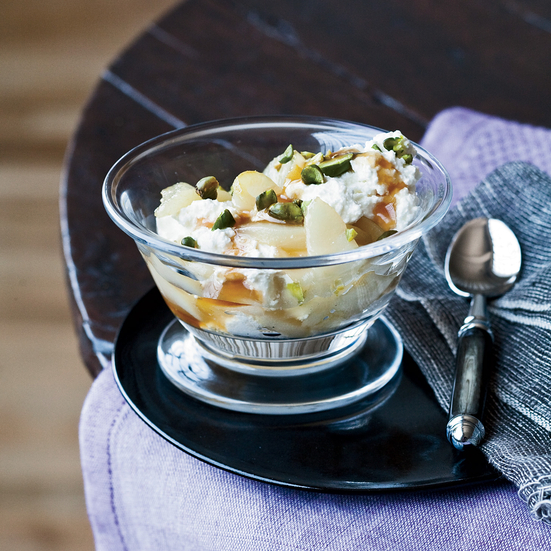 Maple, Pear and Ricotta Parfaits