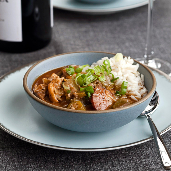 Chicken-and-Orka Gumbo