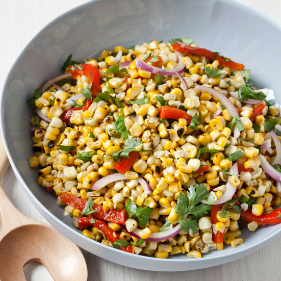 ... red peppers recipes dishmaps corn with chevre and red peppers recipes