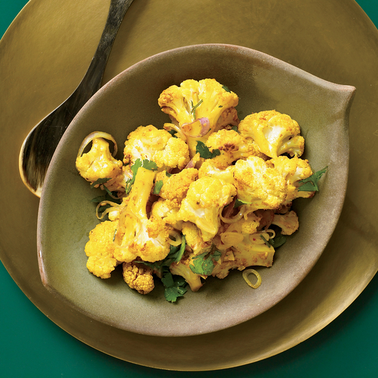 Turmeric-Roasted Cauliflower