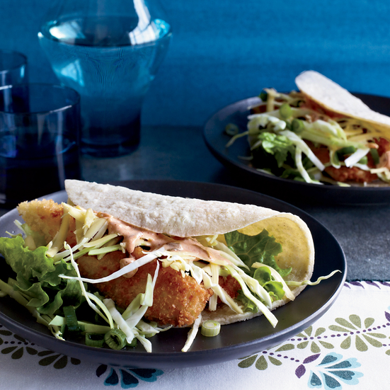 Crispy Fried-Fish Tacos