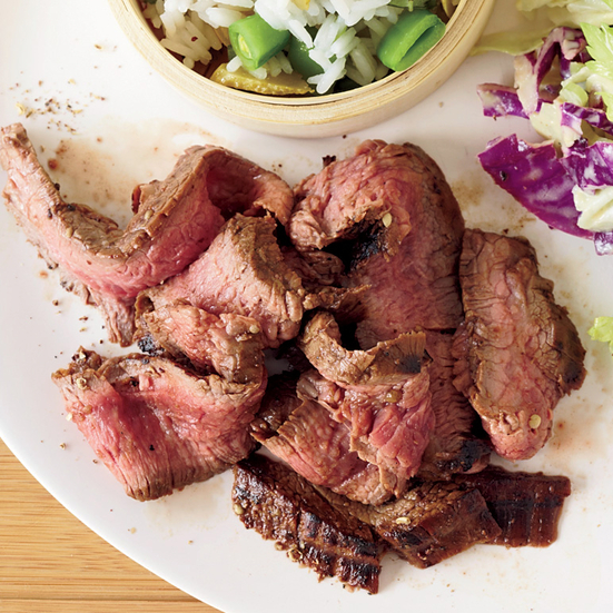 Grilled Flank Steak with Sichuan Peppercorns